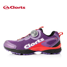 2016 Clorts Women Trail Running Shoes Shock Absorption Sports Shoes BOA Fast Lacing System Shoes Breathable Running shoes