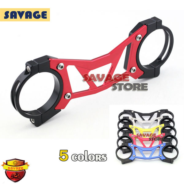 FOR YAMAHA YZF R25 R3 YZF-R25 YZF-R3 2014-2015 Red BALANCE SHOCK FRONT FORK BRACE<br><br>Aliexpress
