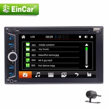 Backup camera+2 din autoradio in dash car CD DVD player headunit double din gps navigation radio stereo radio auto Cassette FM(China)