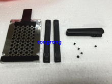 Hard Drive Caddy Cover Rails & Screws for IBM Lenovo ThinkPad T400 R400 Laptop Notebook HDD Caddy Cover(China)