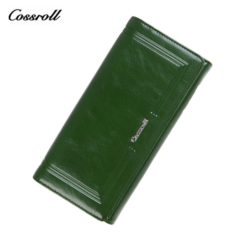 COSSROLL Genuine Leather Women Wallet Ladies Purses Female Purse Daliy Clutch Cheap Women's Wallets Card Holder Carteira