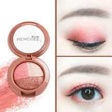 3 Colors Wet and Dry Baking Powder Eye Shadow Makeup Naked Smoky Eyeshadows Professional Natural Matte Eyeshadow Glitter Palette