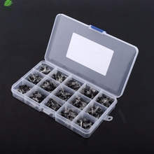 600pcs/set 15 Types Electronic Circuit Semiconductor Triode Three Pin Transistor Assorted Kit