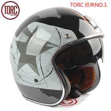 free shipping torc racing 2016 new brand casco capacetes vintage motorcycle helmet scooter jet helmets