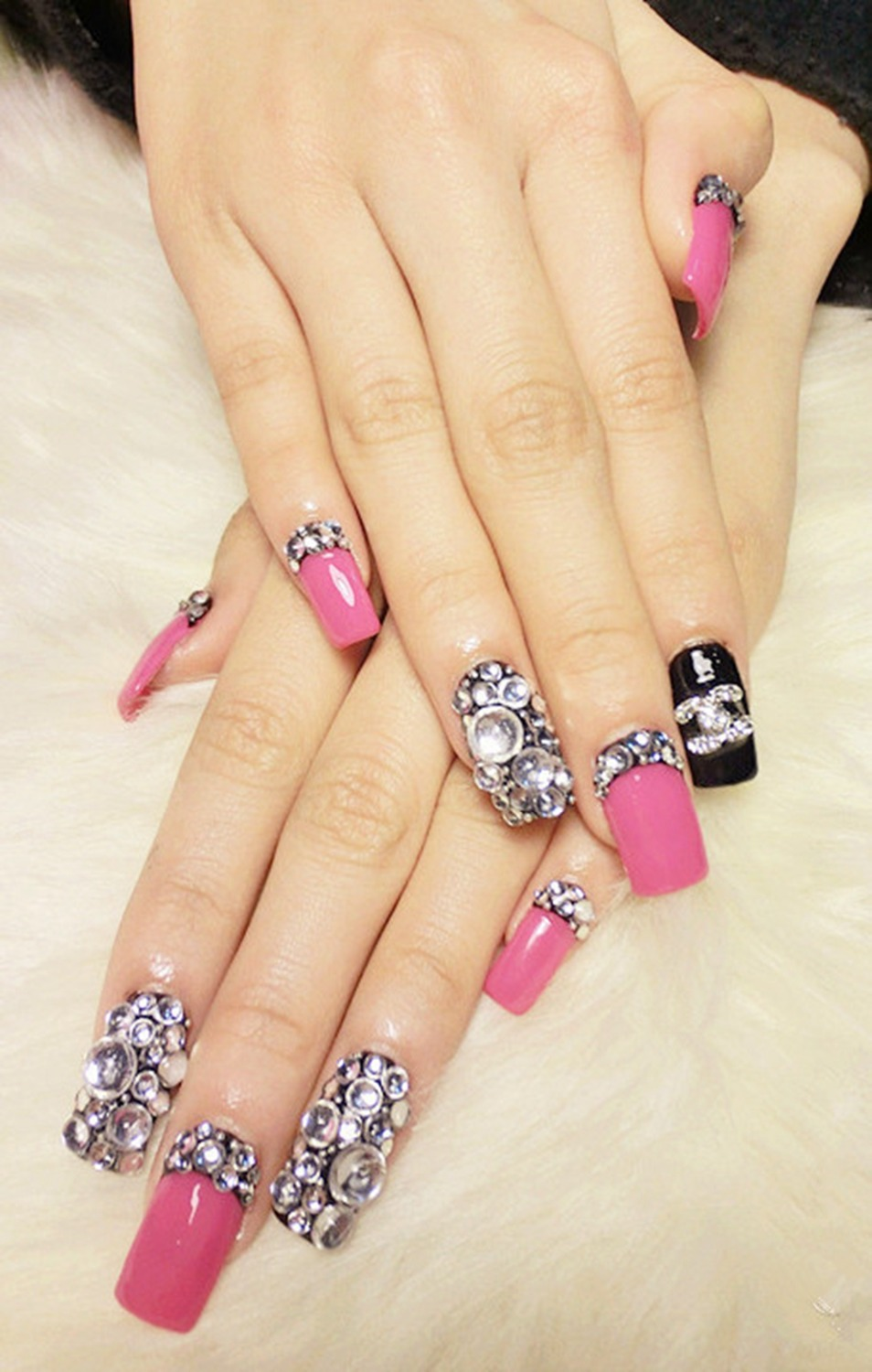 Square nail art design image collections nail art and nail nail art studs square nail art ideas 2017 fashion hot multi style studs nail art 3d prinsesfo Image collections