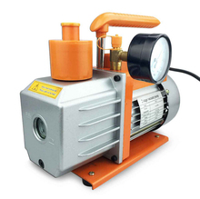 Two Stage 3.5CFM, 1/3 HP Rotary Vacuum Suction Pump Price for HVAC Air Tool + Precision Guage(China)