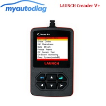 [LAUNCH Distributor] 100% Original Launch Creader V+ OBDII Code Scanner Creader V Plus Same Function As Creader VI