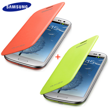 100% Original Samsung Galaxy s3 case SIII Cover 2 Piece Suit Flip Case For Samsung Galaxy S3 i9300 Plastic Case Protective shell