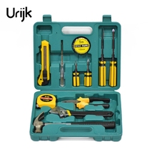 Buy Urijk 11Pcs Household Repair Tools Box Electric Hand Tool Set Combination Case Hammer Pliers Screwdriver Wrench Knife Steel Tape for $24.29 in AliExpress store