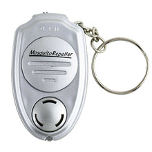 Portable Key Clip Electronic Ultrasonic Mosquitoes Pest Mouse Killer Magnetic Repeller Outdoor Mini Keychain Repeller For Pest