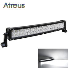 23 inch 120w Curved LED Work Light Bar 12V Spot Flood High Power 8800Lm For Boat Offroad 4x4 Truck SUV ATV JEEP Driving Fog Lamp(China)