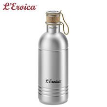 SHIMANO ELITE BORRACCIA VINTAGE L'Eroica Alu 600ml Bicycle Water Bottle Professional Cycling Bottles(China)