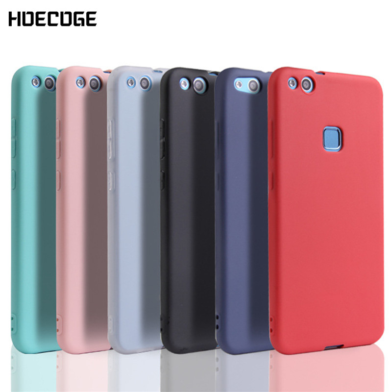 HOECOGE Matte Mobile Phone Case For Huawei P10 lite Soft Silicone TPU Protective Cover For Huawei P10 lite Coque Fundas Capa(China)