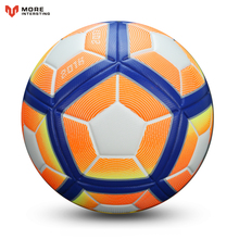 2017 Hot Selling Football Ball Advanced Synthetic Leather Soccer Balls Goals for Younger Teenager Youth Games Training Equipment(China)