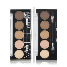 5 Color Brand Eyeshadow Palette Makeup Colorful Matte  Eyeshadow Lasting Eyeshadow Pallete Maquillaje Make up Palette