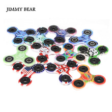Buy JIMMY BEAR 1 Pcs Tri-Spinner Fidget Toys Plastic EDC Hand Fidget Spinners Autism ADHD Kids Adult Funny Anti Stress Toys for $5.49 in AliExpress store