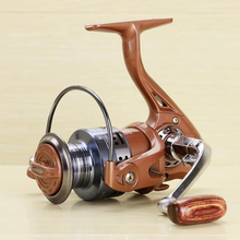 wholesale 2016 New Hot Sale Good Quality Fishing Reels Spinning Fake 2000/7000S Metal is customized  12+1 BB 215/405g 5.5:1