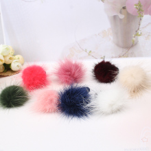 Korean Marten Hair ball Shapes Scrunchie Ponytail Hair Band Rope hair clips for women headwear Style Hair Accessories
