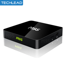 2017 M9S X1 Smart Android TV Box Ultra HD 4K 1GB 8GB Android 6.0 S905X Quad-core Mini PC WiFi Streaming Video TV Media Player(China)