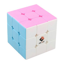 Cube Twist Colorful 3x3x3 Three Layers Magic Cube Profissional Competition Speed Cubo Non Stickers Puzzle Magic Cube Cool Toys