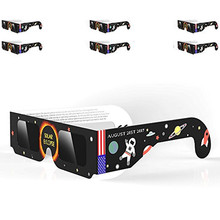 JJRC colors hot fashion funny Solar Eclipse Glasses 2017 Galaxy Edition CE and ISO Standard Viewing dropshipping gift ag7 P30