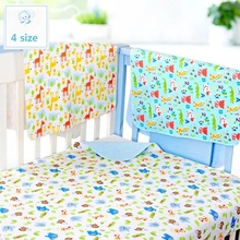 4 size 3 Layers Baby Bamboo Changing Pads Newborn Baby Changing Pad For Infant Child Bed Waterproof Changing Mat For Crib(China)
