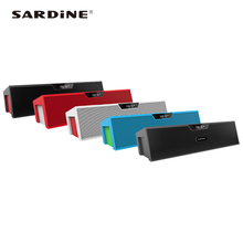 Best bluetooth speaker Sardine SDY019 support MP3 USB handsfree alarm clock audio amplifier for computer phone portable + small(China)