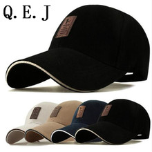 Q.E.JEDIKO And Golf Logo Cotton Baseball Cap Sports Golf Snapback  Simple Solid Hats For Men Bone Gorras Casquette Chapeu