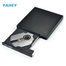 Yahey External DVD Drive USB 2.0 Portable DVD/CD-ROM Player CD-RW Burner Writer Recorder Optical Drive for Laptop Computer pc
