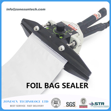 FKR300 direct-heat Plier portable impulse sealer/composite aluminum foil sealer plastic bag sealing machine