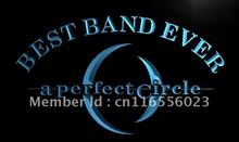 LA316- Best Band Ever A Perfect Circle LED Neon Light Sign home decor shop crafts(China)