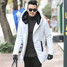 2017 Winter New Men's Jackets Thickening Winter Jackets Mens Cotton Coat Men Warm Parkas Male thick hooded coat outwear(China)