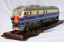 1/48 Scale Copper Chinese Dongfeng Premier zhou enlaiNumber 11 diesel locomotive Train orbital dynamic Train Model(China)