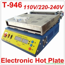 Original Authorized PUHUI T-946 Electronic Hot Plate T946 800W Preheating Oven With 180*240mm Heating Size(China)