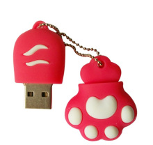 cat paw USB Flash Drive 1gb 2gb 4gb 8gb 16gb 32gb flash disk usb memory stick card/key/Pen/thumb Drives 50PCS/LOT