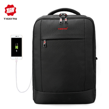 2017 Tigernu Brand 15.6inch Laptop Backpack Women Men Silm Backpack Laptop Bags Men's Casual Daily School Bag for Teenagers(China)