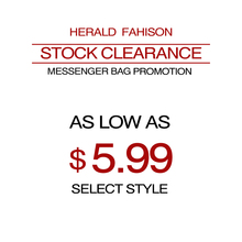 Herald Fashion Stock Clearance Women Shoulder Bag Super Promotions Messenger Bag as Low as $5.99