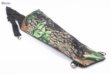 MIZUGIWA Bow and Arrow Shoulder Archery Arrow Quiver Holder Target Hunting Storage Bag Pouch Belt Strap 3 Point Hunting Flecha