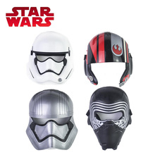 2018 Star Wars Toy E8 Series Toy Poe Dameron Kylo Ren Stormtrooper Captain Phasma Half Helmet Adjustable Plastic Masks Cosplay(China)