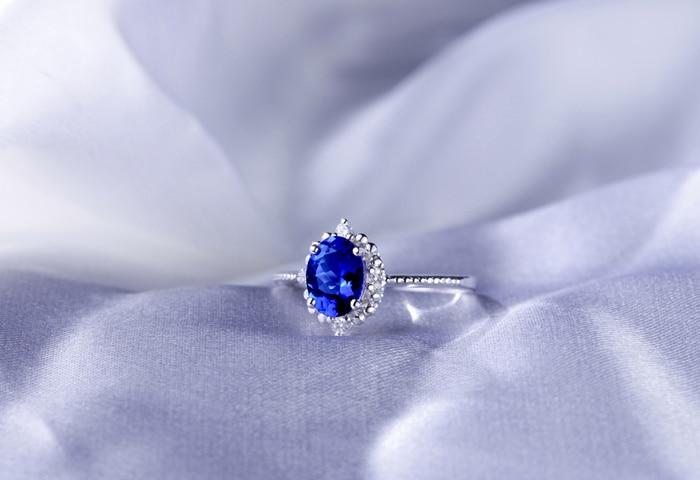 1-52ct-Violet-Blue-Tanzanite-Diamonds-14k-Gold-Engagement-Wedding-Ring