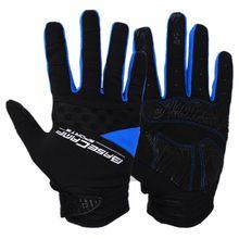 Running Gloves Touch Screen Outdoor Sport Gloves Men Women Army Winter Gloves Full Finger Cycling Gloves(blue M L XL)