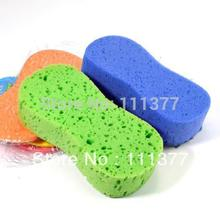 soft and delicate big size vacuum compressed car cleaning sponge durable absorbent(China)