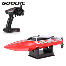 GOOLRC RC Vector28 795-1 2.4GHz Brushed 30km/h High Speed Pool RTR RC Racing Boat as gift For children Toys Kids Gift(China)