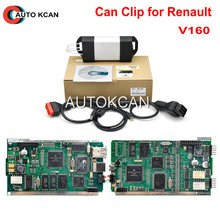 Wholesales Latest Version V160  Can Clip Langauges For Renault Can Clip Diagnostic Interface Free Shipping