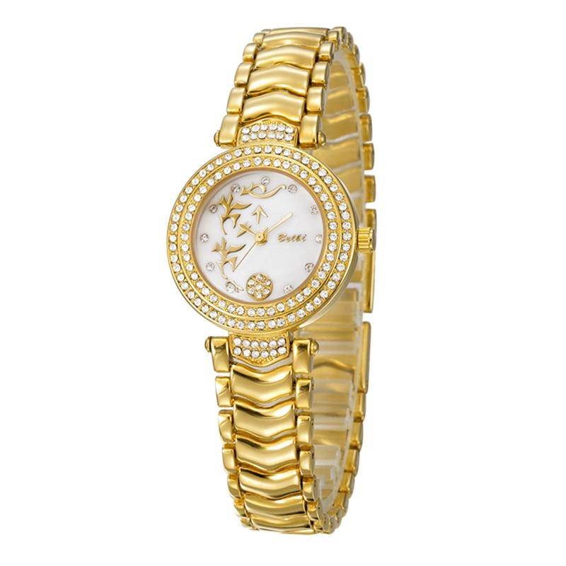 2017 BELBI Women Luxury Watches Brand Special Dial Design for Ladies Diamond Alloy Gold Fashion Dress Waterproof Hodinky Women<br><br>Aliexpress