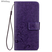 "Buy BYHeYang Meizu M6 Note Case M6 Note Cover 5.5"" PU Leather Wallet Flip Card Holder Mobile Phone Bags Cases Meizu M6 Note for $3.37 in AliExpress store"