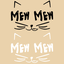 Simple black and white kitten thermal transfer Offset heat transfer pattern DIY clothing patch cloth paste decals