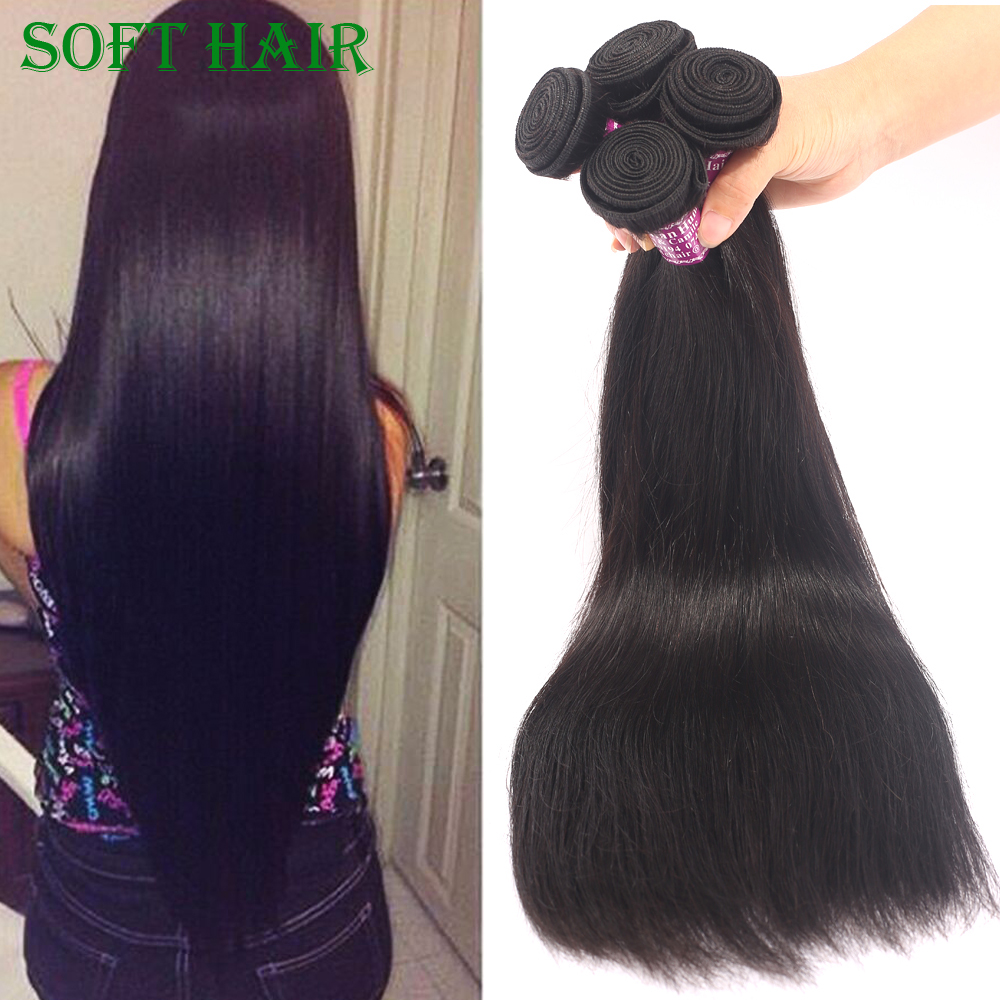 7a Unprocessed Peruvian Virgin Hair Weave Straight 4 Bundles Deal Soft And Smooth Straight Human Hair 8-30 Angel Grace Hair<br><br>Aliexpress