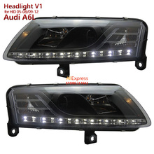 for Audi A6 A6L Projector Headlights 2005-2008 /2009-2012 V1 for Original HID/Xenon Models Ensure High Quality & Fitment(China)