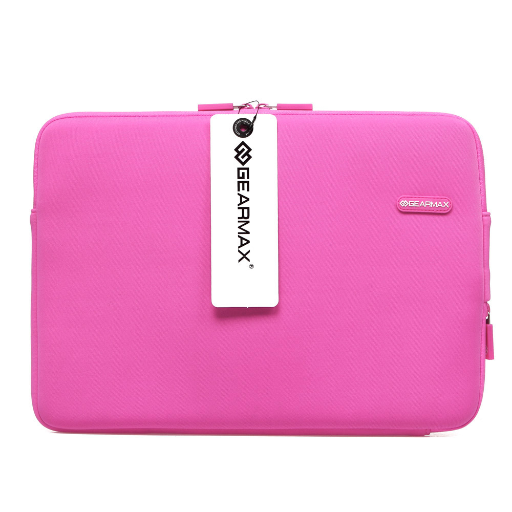 GEARMAX Free Shipping  111315  Laptop Case Pink Blue Laptop Notebook Sleeve Waterproof Sleeve Computer Laptop Tablet PC Bag<br><br>Aliexpress